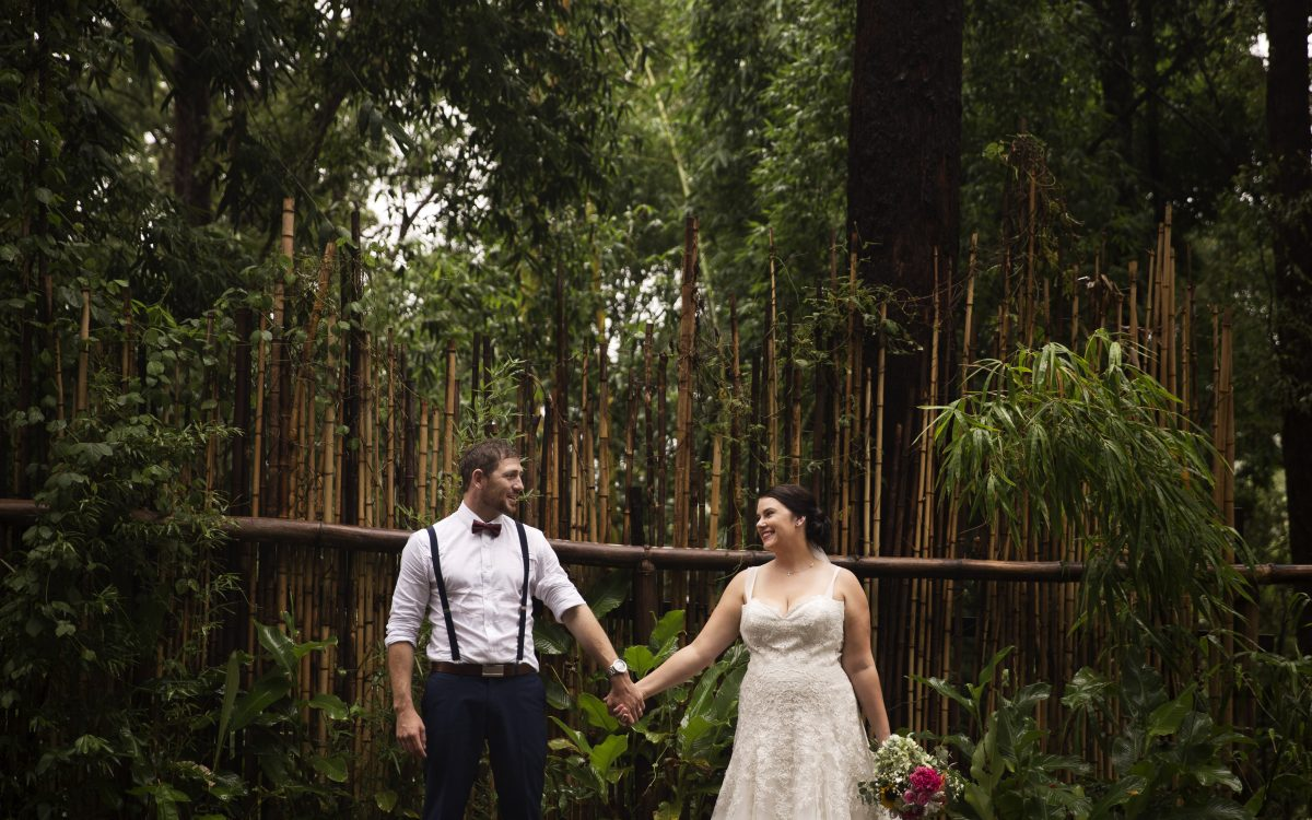 Buderim Falls, Sunshine Coast Elopement ~ Bonny + Jason
