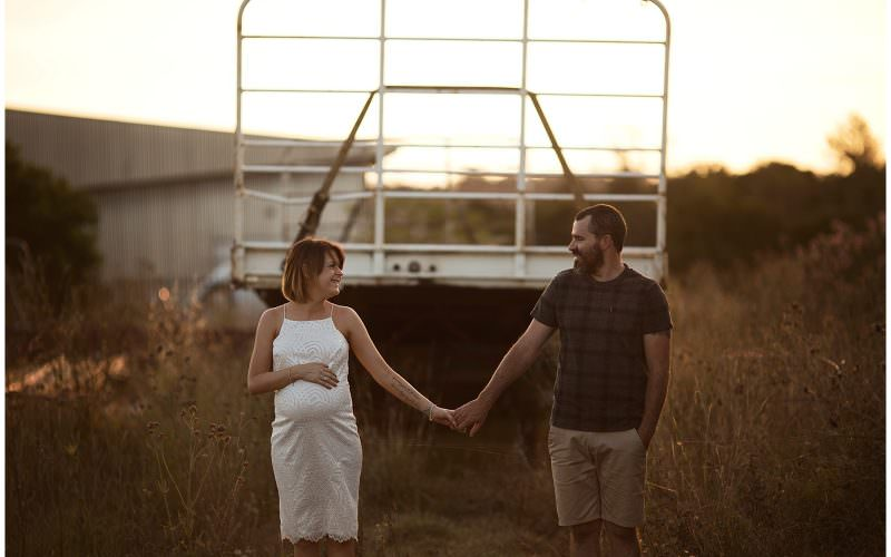 Dungog Maternity Shoot ~ Kelly + Luke