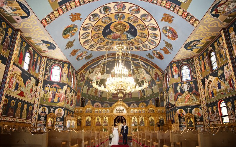 St Catherine's Greek Orthodox Church Wedding ~ Kathy + Gonzalo